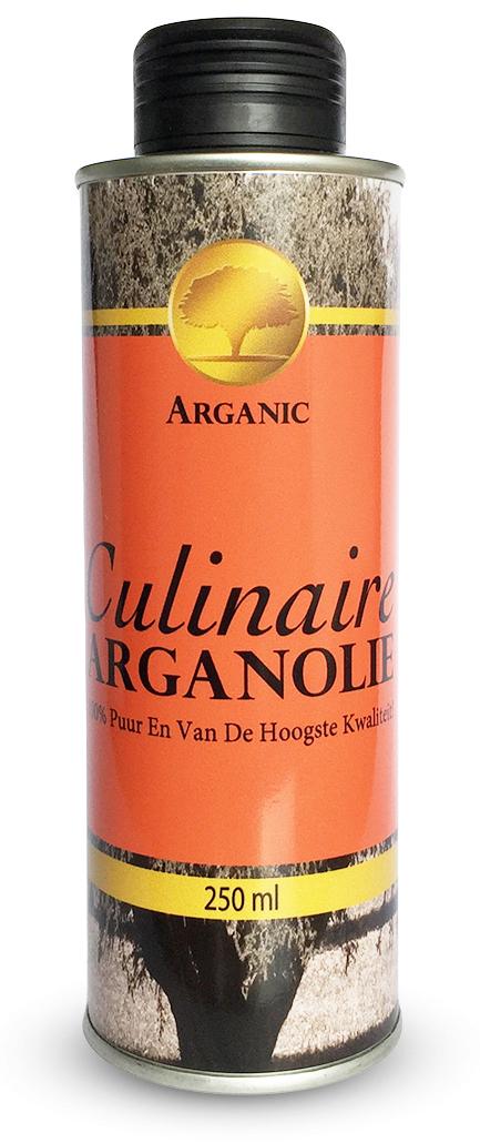 Premium culinaire arganolie 250ml Arganic