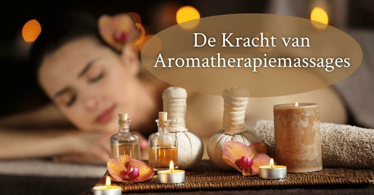 Aromatherapie massage aromatherapiemassage vrouw