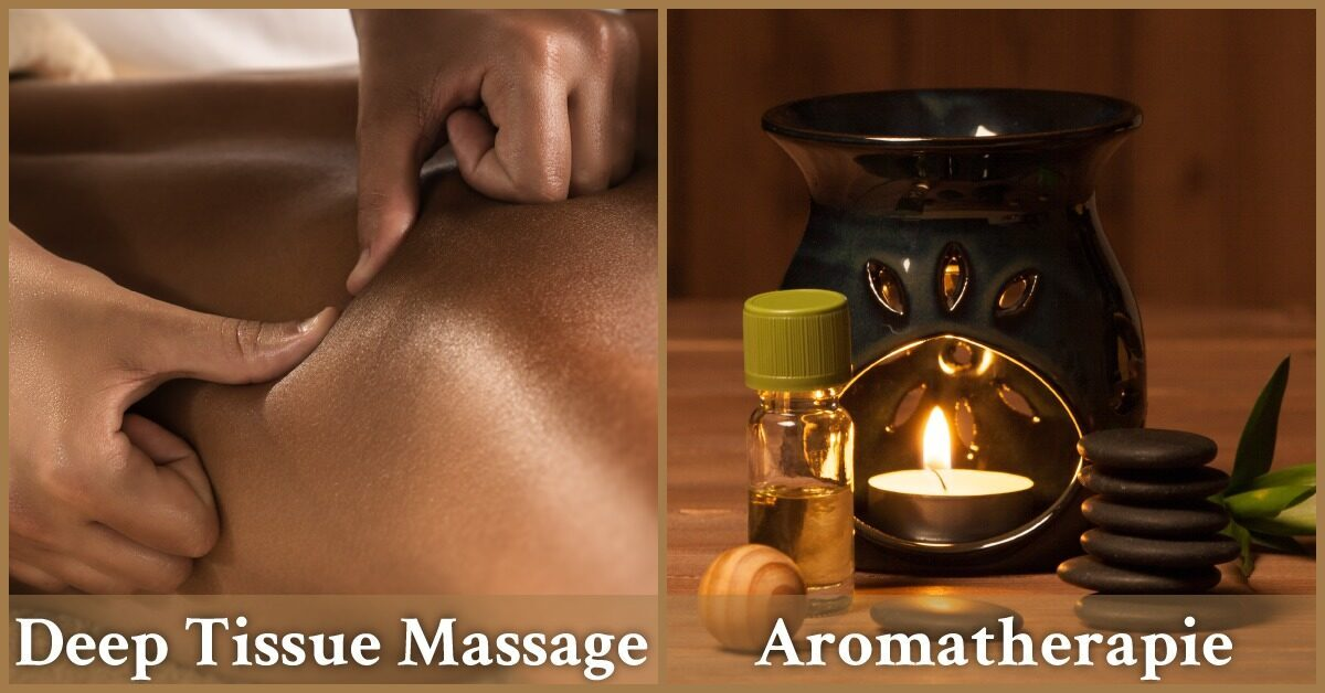 Deep tissue massage aromatherapie