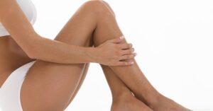Durf je Benen te Ontbloten Pak Striemen en Cellulitis Aan