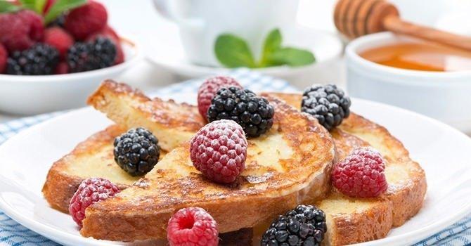 French toast om je ochtenden aangenamer te maken