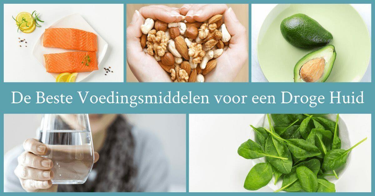 Gezonde voedingsmiddelen zalm noten avocado spinazie water