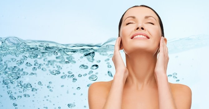 hydrateer je huid