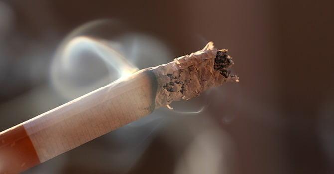 Je Haren Verliezen door Sigaretten