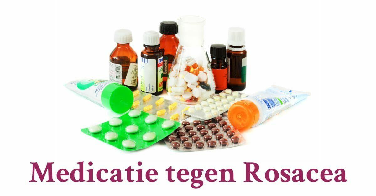 Medicijnen zalf pillen medicatie tegen rosacea