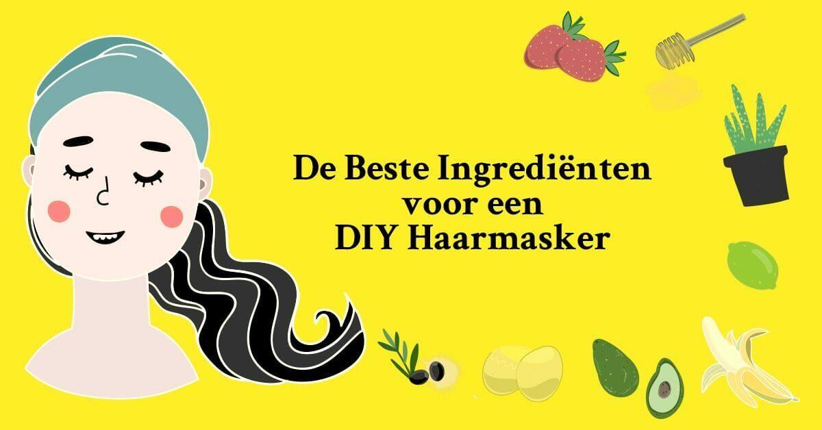 Tekening vrouw aardbeien aloe vera banaan olijf limoen honing