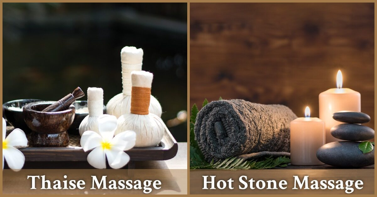 Thaise massage hot stone