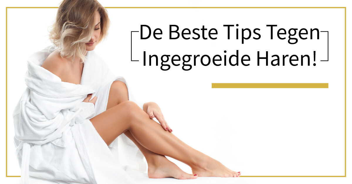 Vrouw ingegroeide haar zachte benen tips