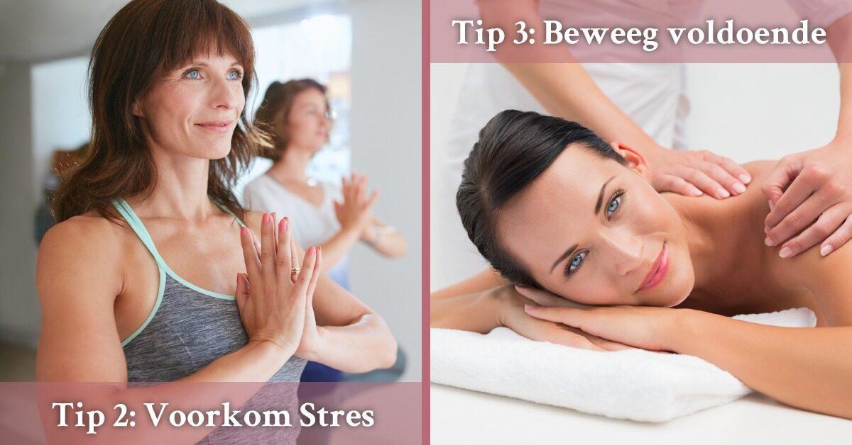 Vrouwen Yoga Massage Gemasseerd