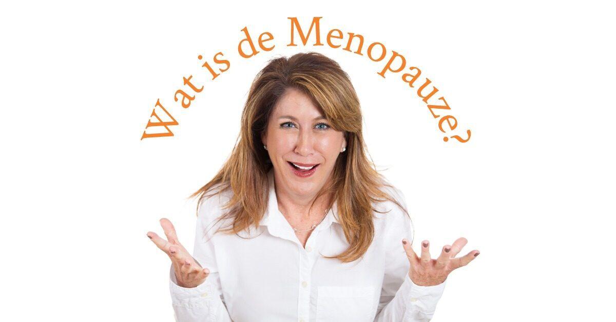 Wat is de menopauze_