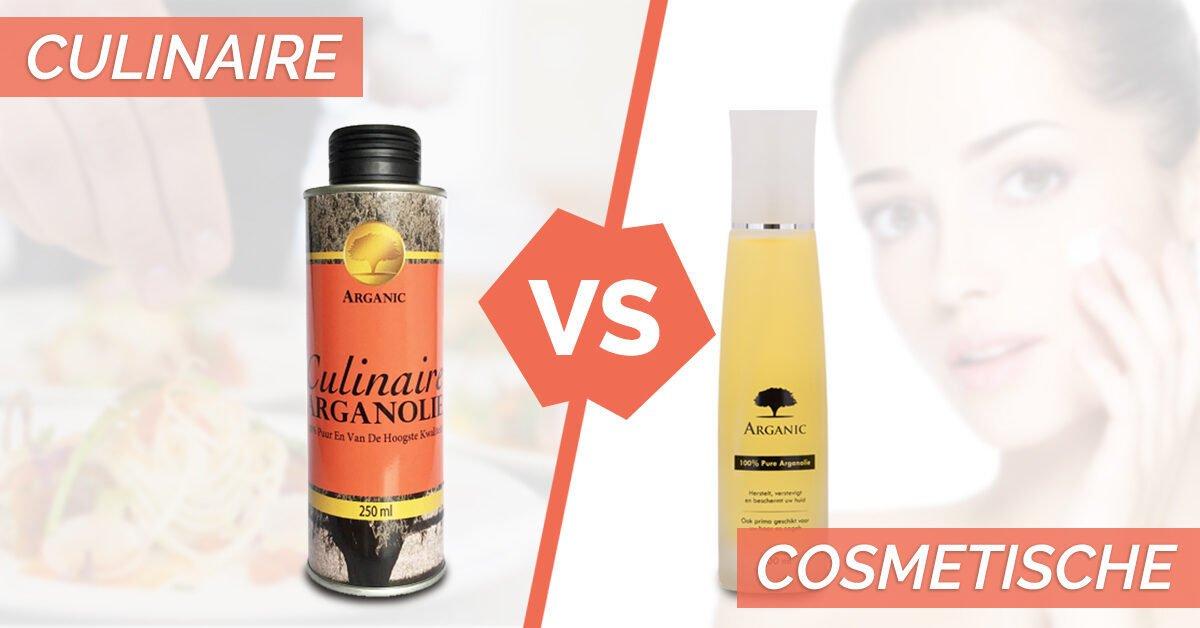 cosmetische en culinaire arganolie