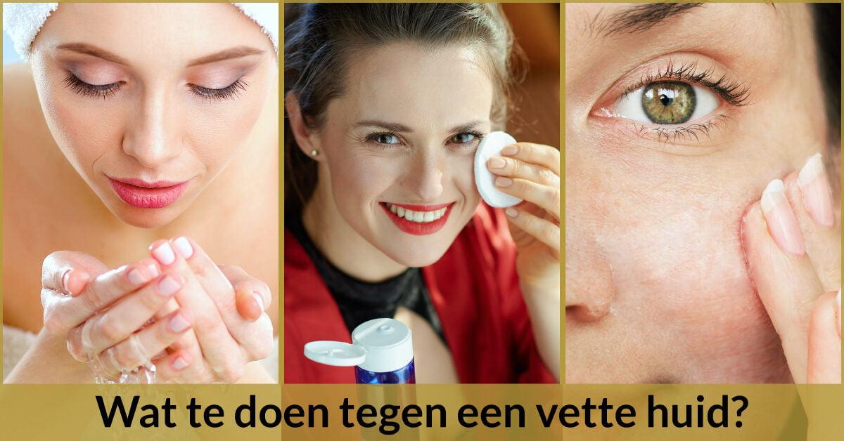 huidverzorging reinigen huid arganolie vette huid