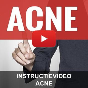 Instructievideo Acne