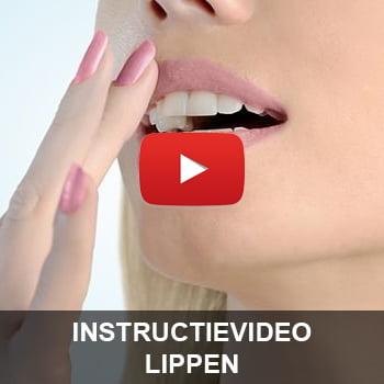 Instructievideo Lippen