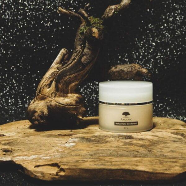 natuurlijke deodorant met arganolie hout