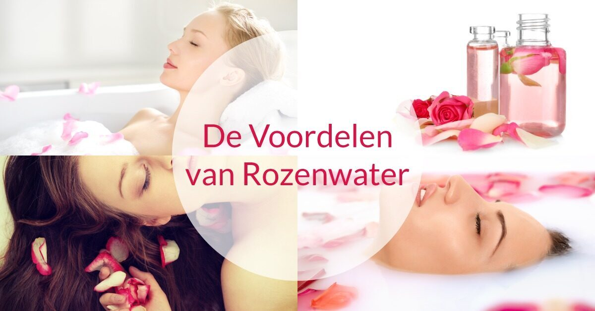 spa vrouwen verzorging rozenwater