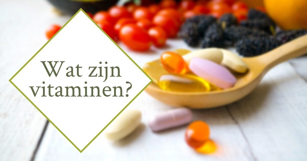 vitaminen supplementen pillen