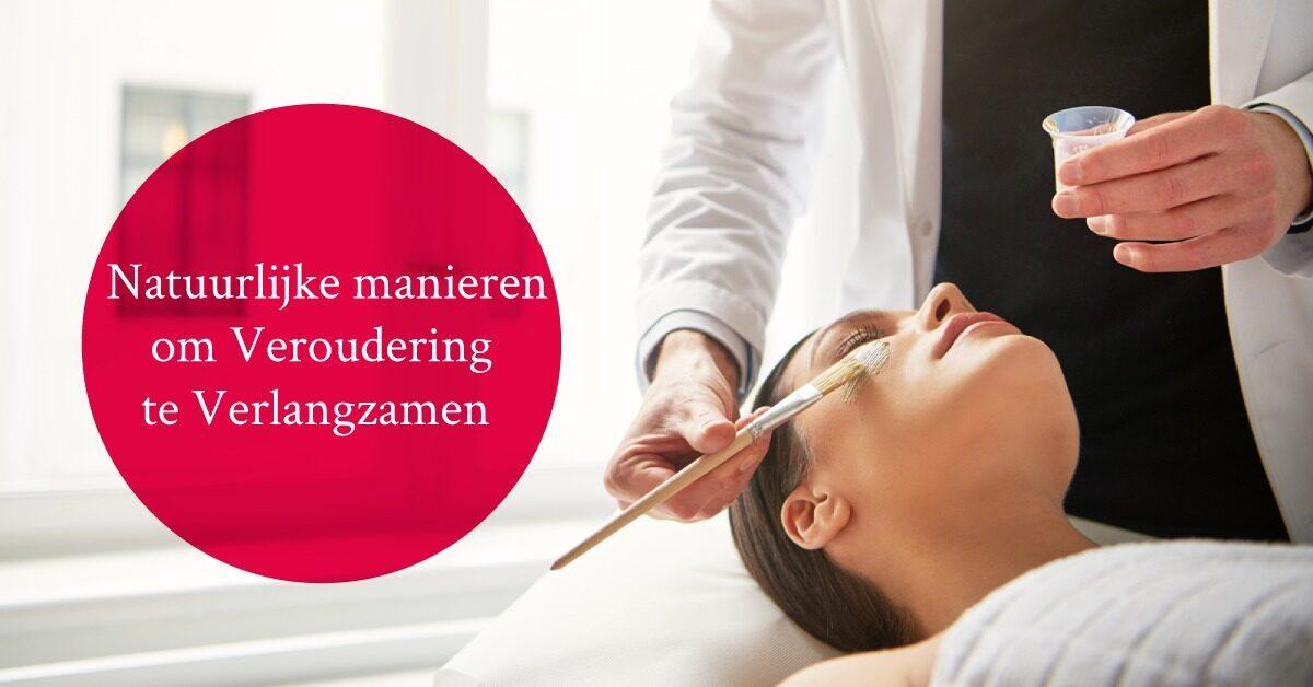 vrouw gezichtsmasker manieren huidveroudering tegengaan