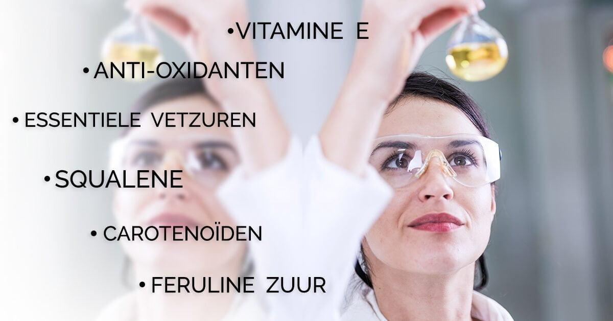 vrouw laboratorium