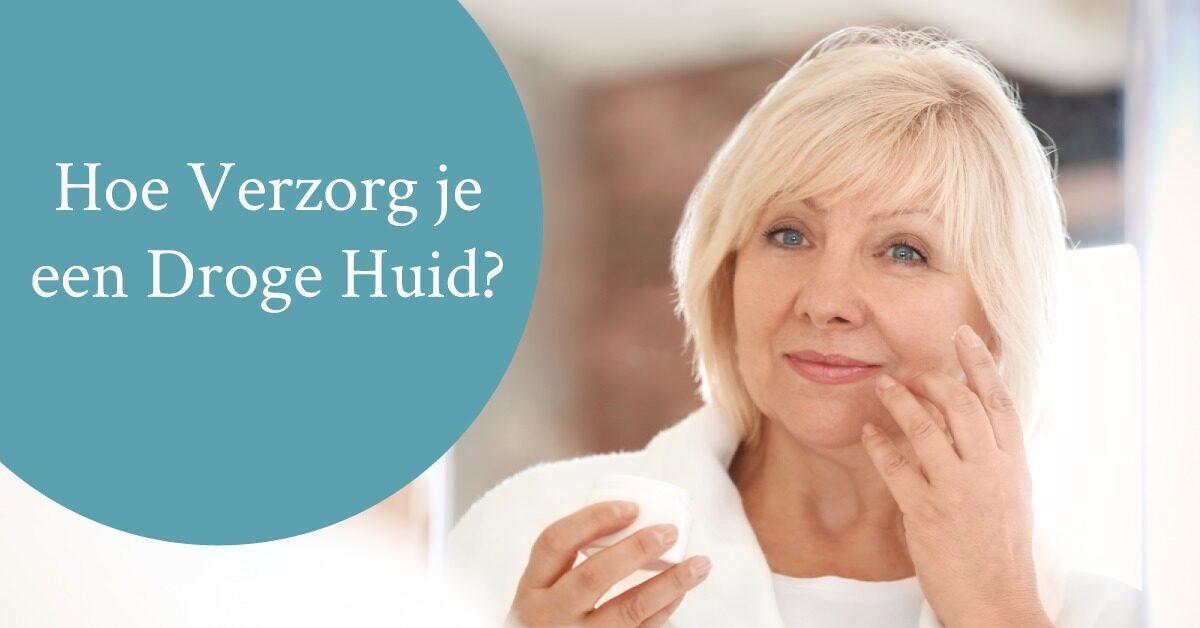 vrouw middelbare leeftijd huidverzorging creme gezicht
