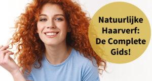 vrouw prachtig rood haar krullen haarverf complete gids alles wat je wil weten natuurlijke haarverf