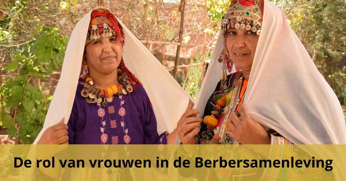 vrouwen berbervrouwen klederdracht cultuur