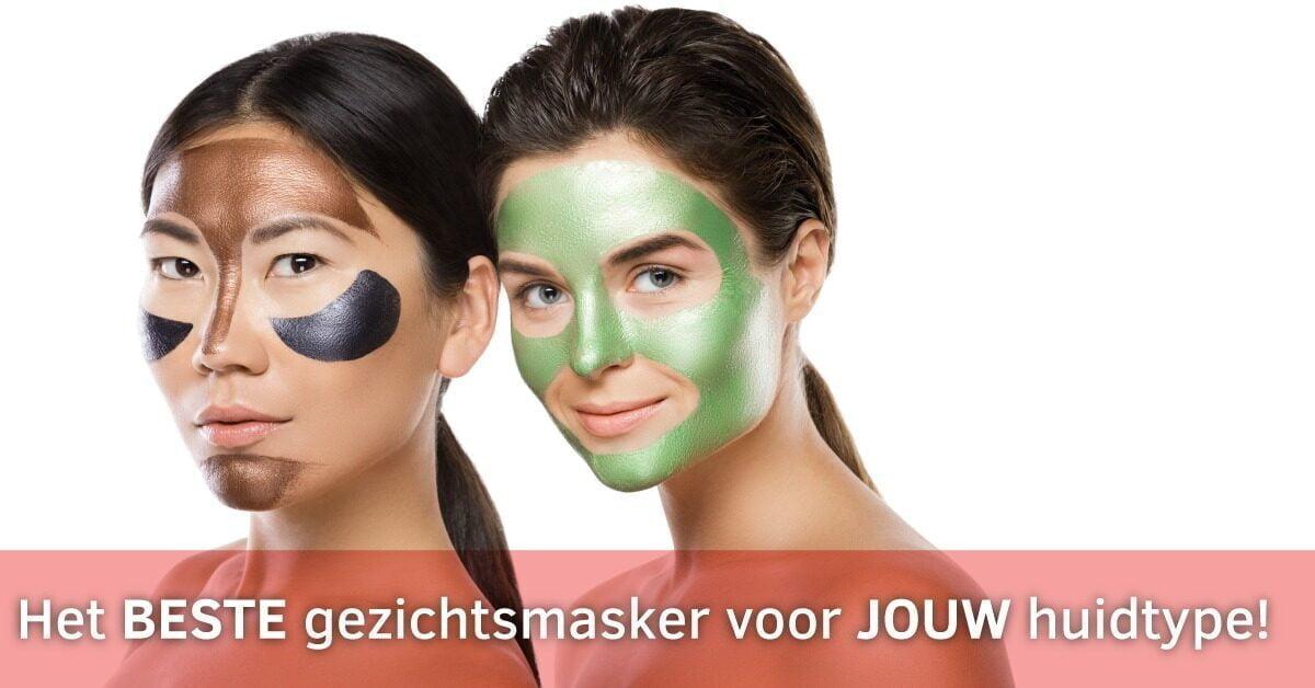 vrouwen verschillende gezichtsmaskers