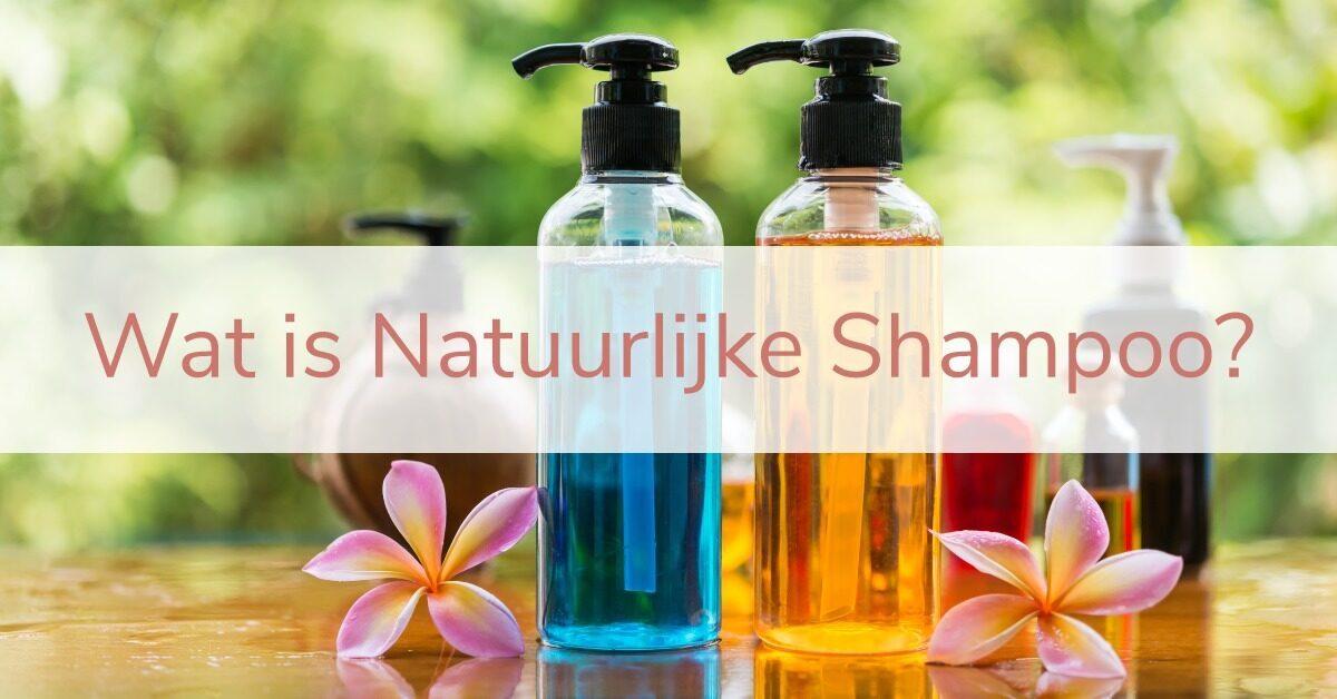 wat is natuurlijke shampoo